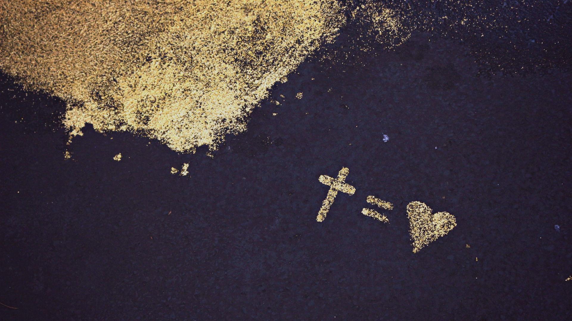 Jesus = Faith in Humanity = Love